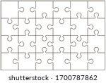 Puzzle Pieces Vector...