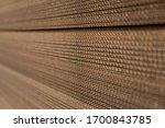 The Cut Corrugated Cardboard...