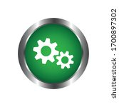 settings icon vector design... | Shutterstock .eps vector #1700897302