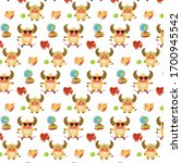This Pattern Consists Of Cute...