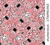 Circuit Board Diagonal Pattern...