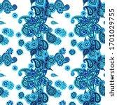 seamless paisley pattern....   Shutterstock .eps vector #1701029755