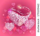 valentine's day. vector eps 10.   Shutterstock .eps vector #170105462