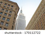 the empire state building in... | Shutterstock . vector #170112722