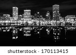 the skyline and docks... | Shutterstock . vector #170113415