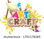 font design for word art and... | Shutterstock .eps vector #1701178285