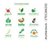 vegan  fresh  bio  raw  eco ...   Shutterstock .eps vector #1701186232