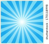 white rays background.... | Shutterstock .eps vector #170118998