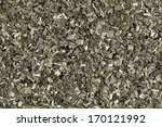 Small photo of Background of dried wakame seaweed (Alaria esculenta)