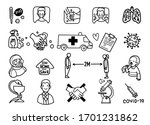 vector illustration of doodle... | Shutterstock .eps vector #1701231862