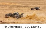 Rc Buggy In The Desert  Summer...