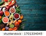 organic food  fresh vegetables  ...