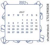 design calendar 2021 year in...