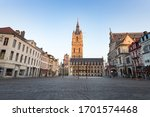 Ghent  Belgium   April 9  2020...