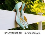 Tiffany Blue Wedding Shoes With ...