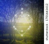 sacred geometry inspired vector ... | Shutterstock .eps vector #1701661612