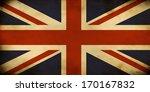 Retro Vintage Union Jack Flag
