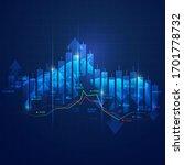 stock market exchange concept ... | Shutterstock .eps vector #1701778732
