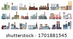 industry factory isolated... | Shutterstock .eps vector #1701881545