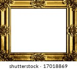 vector decorative antique gold... | Shutterstock .eps vector #17018869