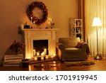 Cozy Living Room Interior...