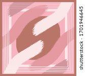 abstract silkfabric hijab scarf ... | Shutterstock .eps vector #1701946645