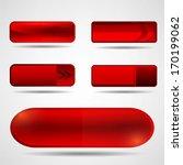 web buttons set | Shutterstock .eps vector #170199062