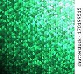 emerald green blinking glitter... | Shutterstock .eps vector #170199515