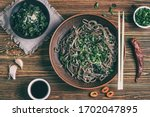 still life with top view of... | Shutterstock . vector #1702047895