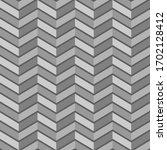 chevron pattern memphis style.... | Shutterstock .eps vector #1702128412