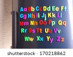 Colorful Magnetic Letters On ...