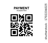 Qr Code Payment Isolated Vector
