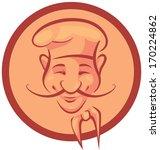 chef cook in frame | Shutterstock . vector #170224862