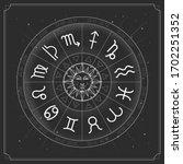 modern magic witchcraft... | Shutterstock .eps vector #1702251352