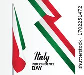italy independence day banner...   Shutterstock .eps vector #1702251472