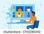 vector illustration in simple...   Shutterstock .eps vector #1702280242