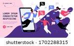 customer loyalty reward program ... | Shutterstock .eps vector #1702288315
