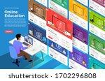 illustrations flat design... | Shutterstock .eps vector #1702296808