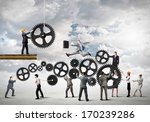 conceptual image of... | Shutterstock . vector #170239286