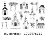 Hand Drawn Places For Wedding...