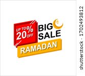 Ramadan Sale Illustration With...