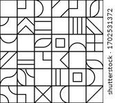 minimalistic geometric seamless ... | Shutterstock .eps vector #1702531372