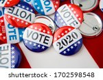 Red  White  And Blue Vote...
