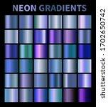 neon  blue  fluorescent ...   Shutterstock .eps vector #1702650742