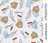cute seamless vector background ... | Shutterstock .eps vector #1702654792