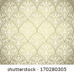 golden vintage seamless pattern ... | Shutterstock .eps vector #170280305