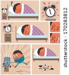 short story about man having... | Shutterstock .eps vector #170283812