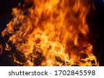 The Fire  Burning Debris  Ther...