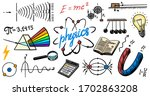 physics or education concept.... | Shutterstock .eps vector #1702863208
