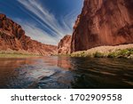 Colorado River With Gorgeous...